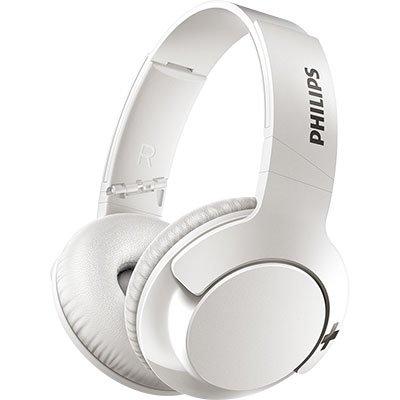 Headphone Philips Bluetooth Branco Sem Fio Shb3175wt/00 Bass+ Over Ear BT 1 UN