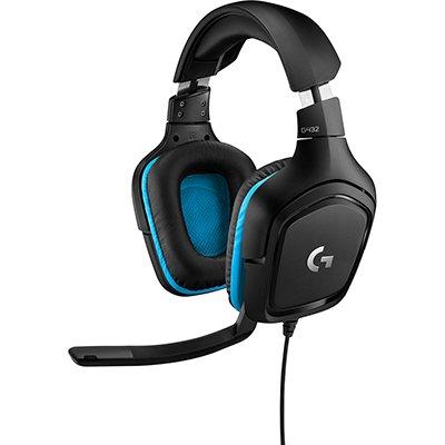Headset Gamer P2 G432 981-000769 Logitech G CX 1 UN