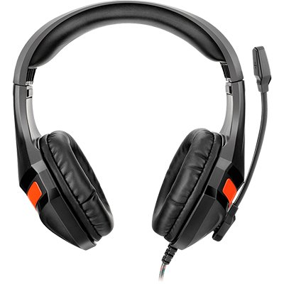 Headset Gamer com haste ajustável Warrior  CX 1 UN