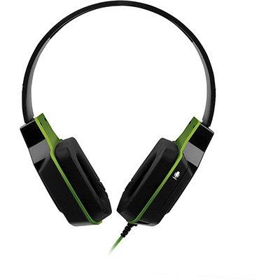 Headset Gamer P2 verde PH146 Multilaser CX 1 UN