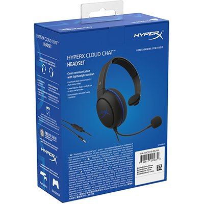 Headset CloudX Chat PS4 HyperX PT 1 UN