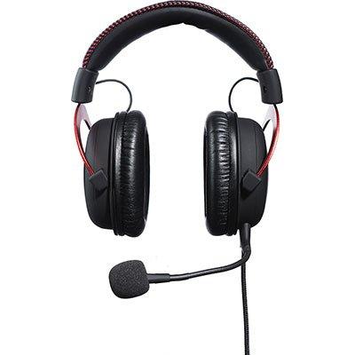 Headset Gamer P2 HyperX Cloud II 7.1 preto/vermelho KHX-HSCPRD HyperX CX 1 UN