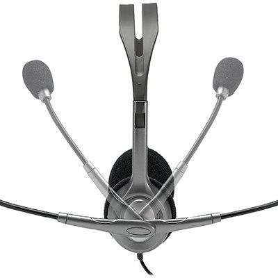 Headset P2 haste ajustável H111 Logitech BT 1 UN