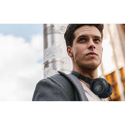 Headphone on-ear preto T500 Jbl CX 1 UN