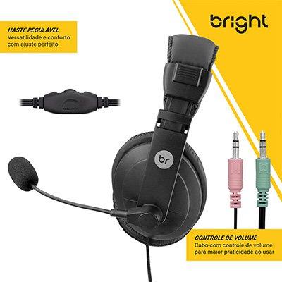 Headset P2 Vulcão 0507 Bright CX 1 UN