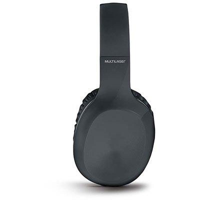Headphone Bluetooth Pop preto PH246 Multilaser CX 1 UN