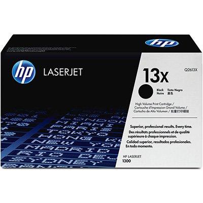 Toner HP 13X Preto Alta capacidade Laserjet Original (Q2613X) Para HP Laserjet 1300, 1300N, 1300xi CX 1 UN