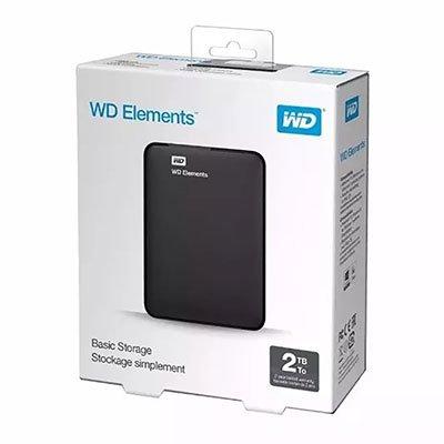 HD externo 2tb usb portátil Elements Western Digital CX 1 UN