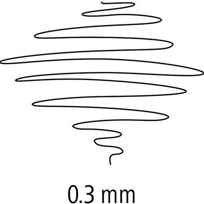 Caneta hidrográfica 10 cores 0,3mm Fineliner 334SB1003 Staedtler BT 1 UN