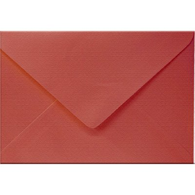 Envelope 120g 163x225mm vermelho 3233 Romitec CX 50 UN