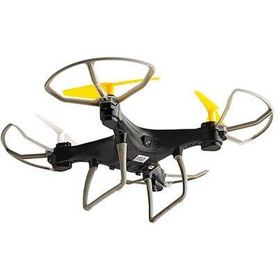 Drone Multilaser Fun Alcance de 50m Flips em 360° C/Controle Remoto Preto/Amarelo- ES253 CX 1 UN