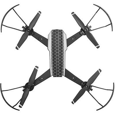 Drone New Shark preto ES328 Multilaser CX 1 UN