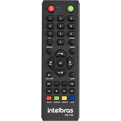 Conversor e gravador Digital de TV CD730 Intelbras CX 1 UN