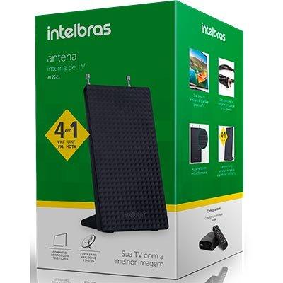 Antena Digital UHF/ VHF/ HDTV AI2021 Intelbras CX 1 UN