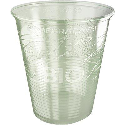 Copo plástico descartável 180ml PP Biodegradável CFB180 Copobras PT 100 UN