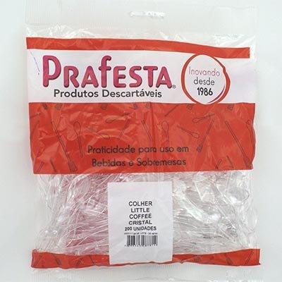 Mexedor plástico para café colherinha litle coffee 8781 Prafesta PT 200 UN