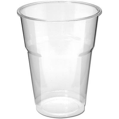 Copo plástico descartável 200ml Supremo cristal 8601 Prafesta PT 50 UN
