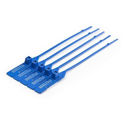 Lacre 165mm PP azul 100un Frontec PT 100 UN