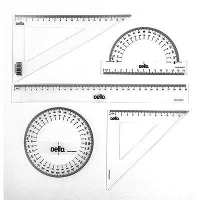 Conjunto desenho escolar segundo grau flexivel 8700 Dello PT 1 UN