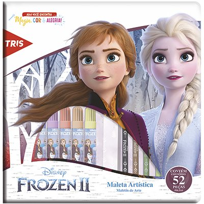Maleta para colorir Frozen 681887 Tris PT 1 KT