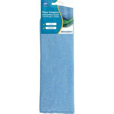 Pano microfibra 40x30cm Top Clean 18319 Yazi PT 3 UN