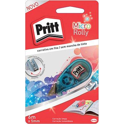 Corretivo em fita 5mmx6m micro rolly Pritt 1905653 Henkel PT 1 UN
