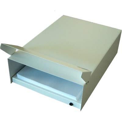 Desumidificador de papel bivolt em aço p/ até 700fls A4 Larroyd CX 1 UN