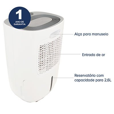 Desumidificador de ambiente New Plus 150 220v 1078 Thermomatic CX 1 UN