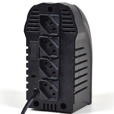 Estabilizador 110v Powerest 500va 4 tomadas preto 9014 Ts Shara CX 1 UN