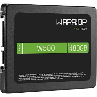 SSD Gamer Warrior W500 480gb SS410 Warrior CX 1 UN