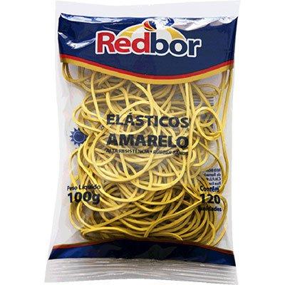 Elástico amarelo n.18 c/ 120 unidades REA04 Red Bor PT 1 UN