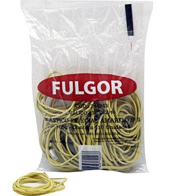 Elástico látex especial amarelo n.18 c/ 110 unidades Fulgor PT 1 UN