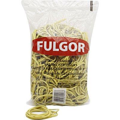 Elástico látex especial amarelo n.18 c/ 550 unidades Fulgor PT 1 UN