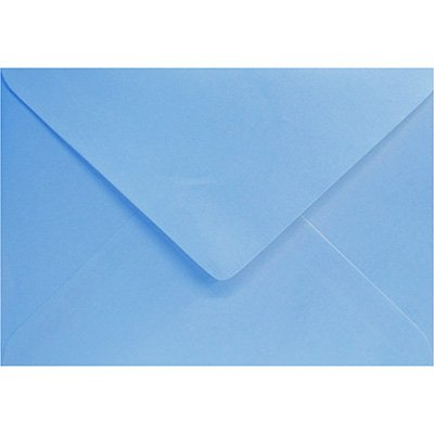Envelope 80g comercial 114x162 azul royal 3056 Romitec CX 50 UN