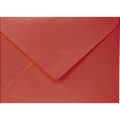 Envelope 80g comercial 114x162 vermelho 5444 Romitec CX 50 UN