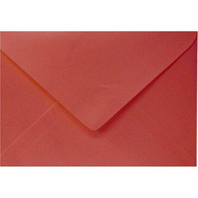 Envelope 80g visita 115x80 vermelho 66R Romitec CX 100 UN