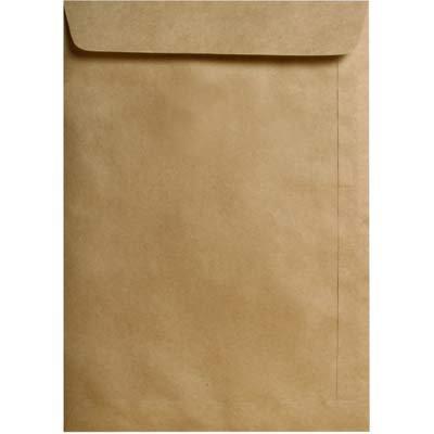 Envelope saco kraft natural 80g 229x324 40skn Celucat CX 250 UN