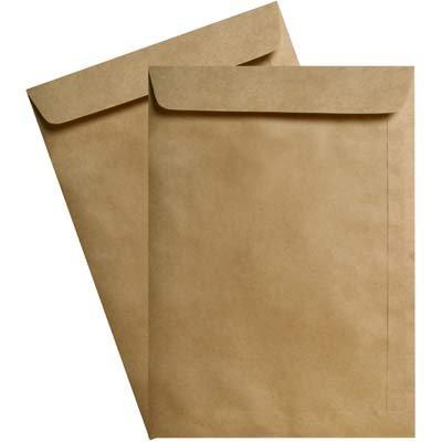 Envelope saco kraft natural 80g 265x370 44skn Celucat CX 250 UN