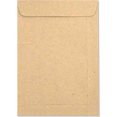 Envelope saco kraft natural 75g 176x250 kft25 2097 Romitec CX 100 UN