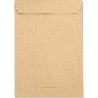 Envelope saco kraft natural 75g 229x324 kft32 5541 Romitec CX 100 UN