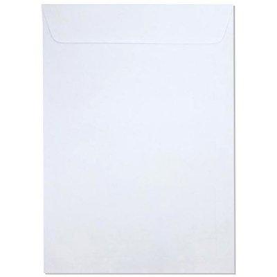 Envelope saco kraft branco 75g 176x250 br25 000160R Romitec CX 10 UN