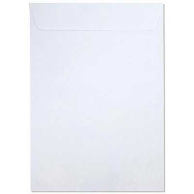 Envelope saco kraft branco 75g 229x324 br32 000168R Romitec CX 10 UN