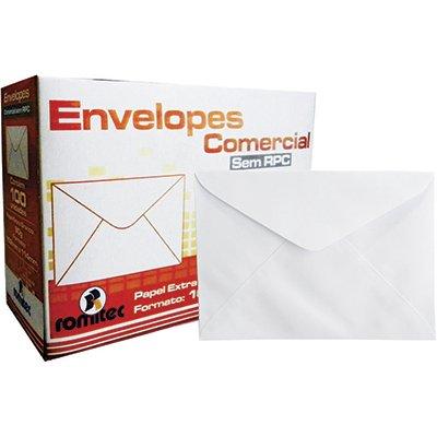 Envelope comercial 114x162 s/rpc 90g 8079 Romitec CX 100 UN