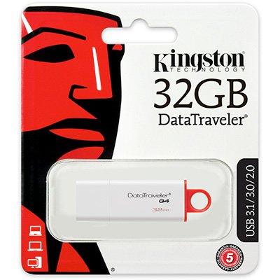 Pen Drive 32gb USB 3.0 DataTraveler 4 DTIG4 Kingston BT 1 UN
