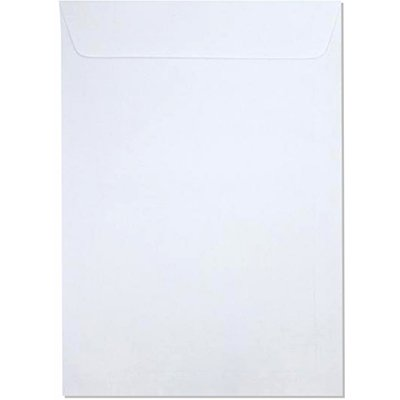 Envelope saco kraft branco 75gr 162x229 br-23 140 Romitec CX 100 UN