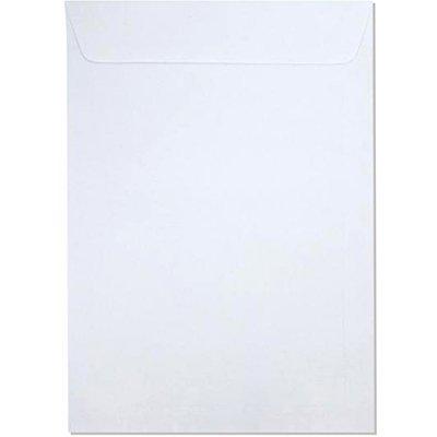 Envelope saco kraft branco 75gr 176x250 br-25 159 Romitec CX 100 UN