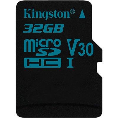 Cartão de memória micro SD 32gb Canvas Go! Classe 10 Kingston BT 1 UN