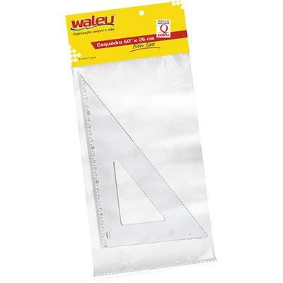 Esquadro 26x60 cristal 10070012 Waleu PT 1 UN