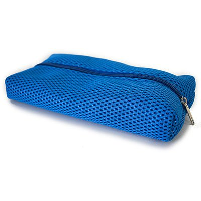 Estojo escolar pvc superlight azul SL11-B Obi PT 1 UN
