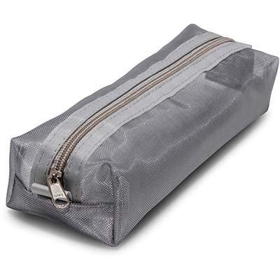 Estojo escolar pp baú prata 2501317 Trousses PT 1 UN